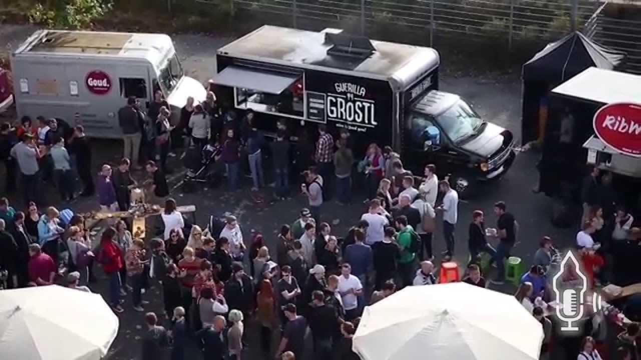 Restaurants on wheels gather in Nuremberg