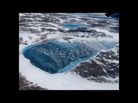 Giant Lakes found under the ice cap in Greenland