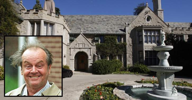 Jack Nicholson Had A Secret Tunnel From His House To The Playboy Mansion