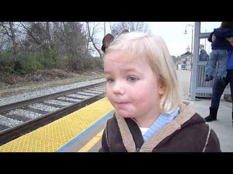 The first train ride