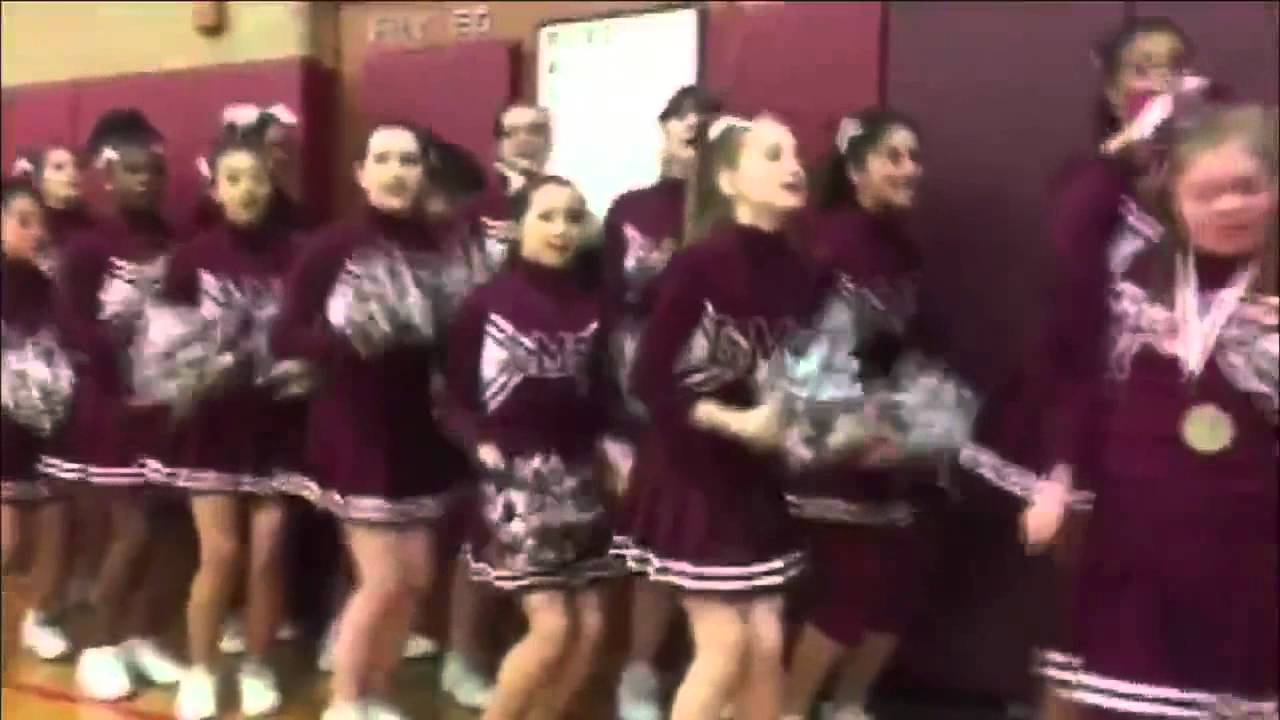 Youngsters stop basketball match to stand up for Desiree