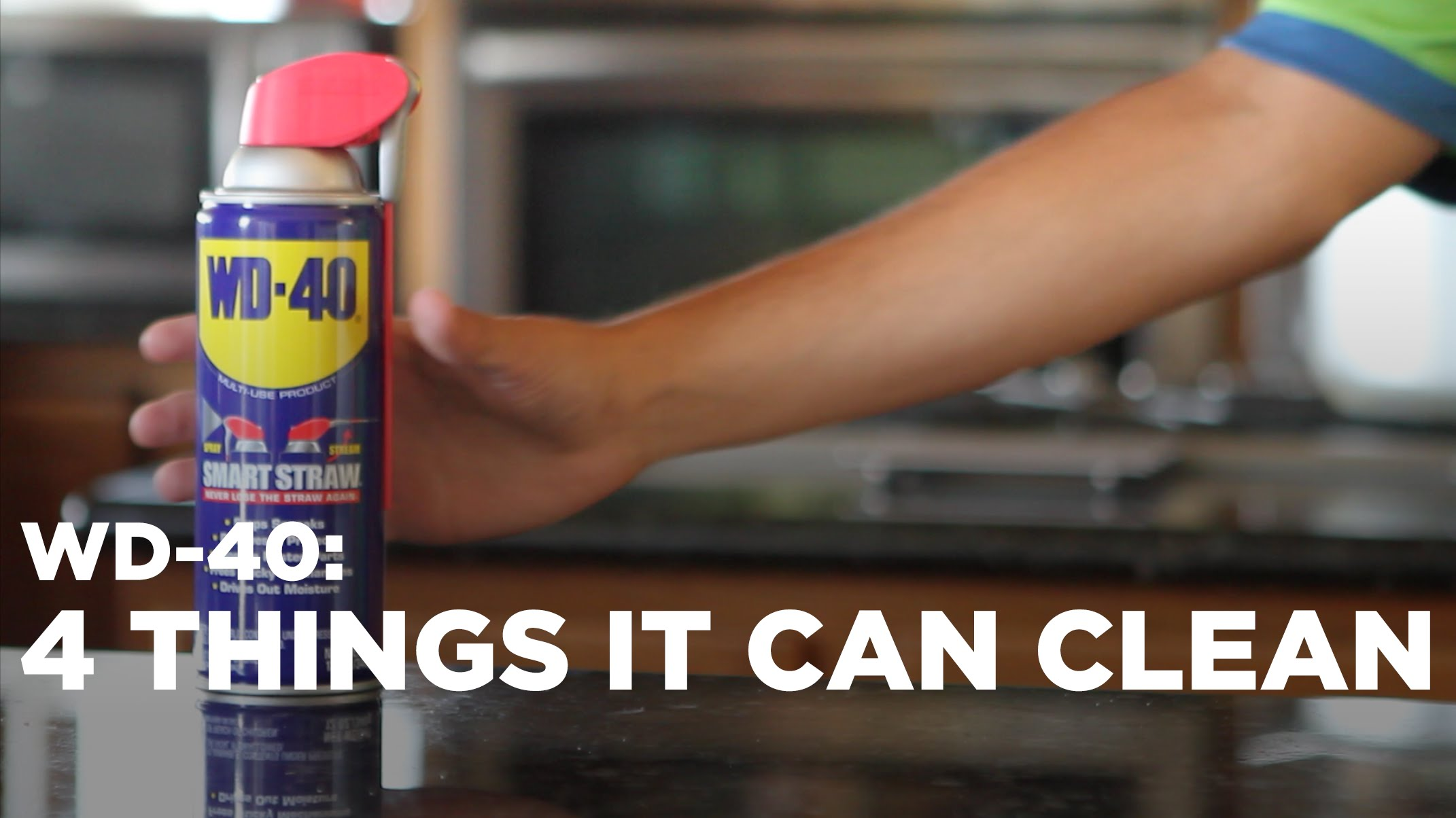Meet your cleaning new best friend, WD-40