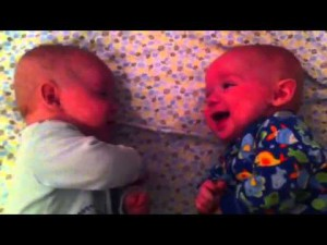 """A """"conversation """" between twins that will delight anyone"""
