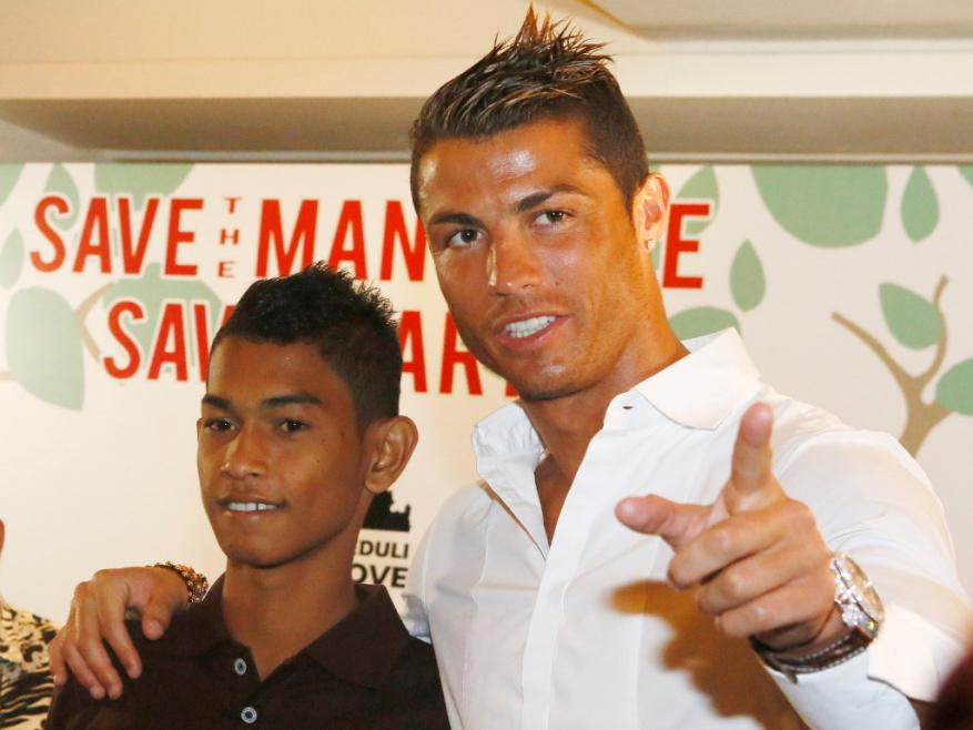10 years ago Cristiano Ronaldo gave this homeless boy a house. Today he is a professional player