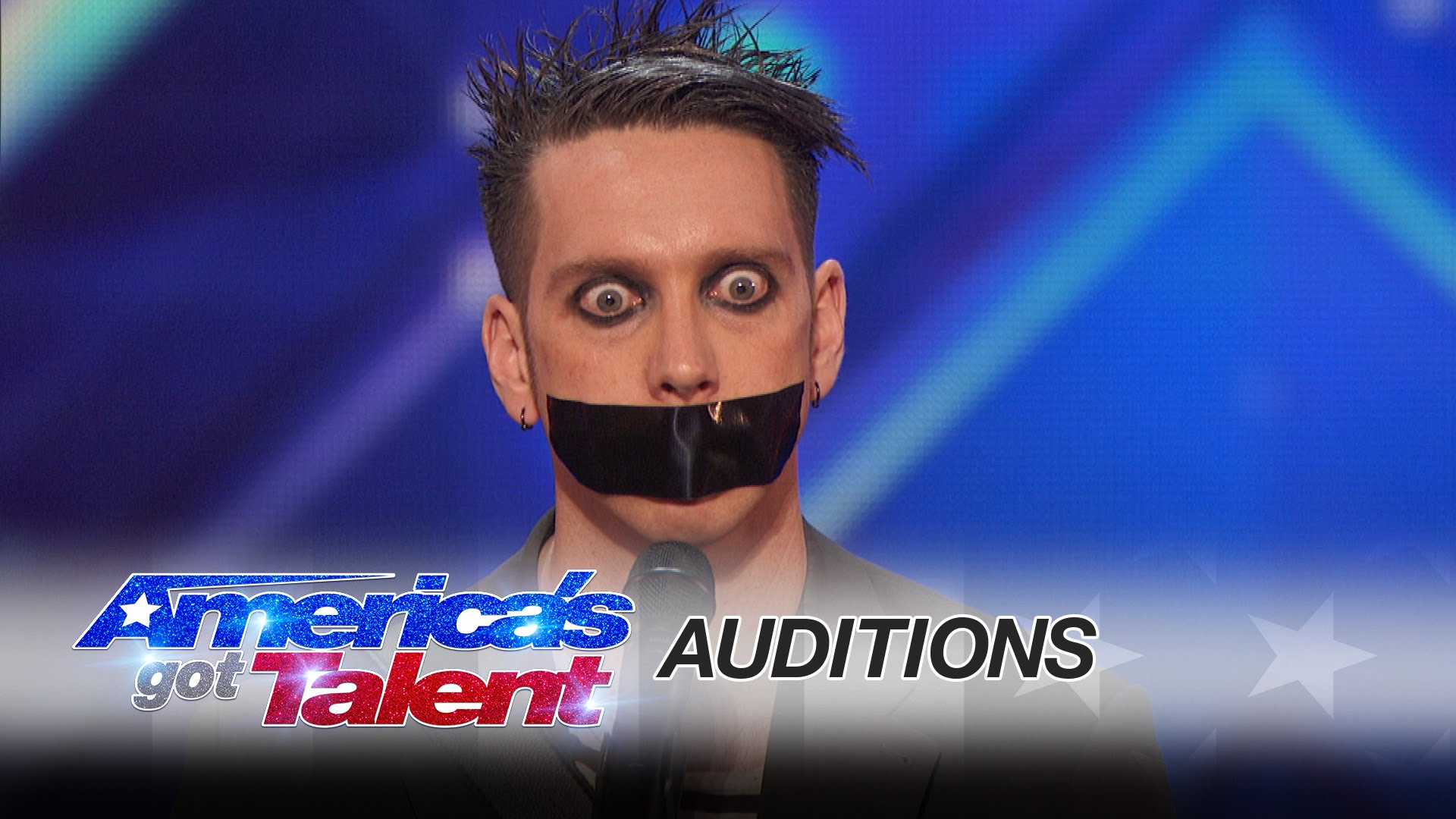"""This guy went to """"America's Got Talent """" and without a word left everyone laughing"""