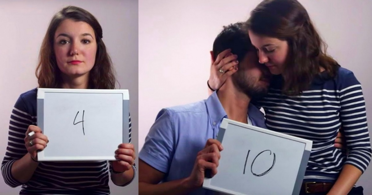 People rated each other from 1 to 10, and the result was really emotional