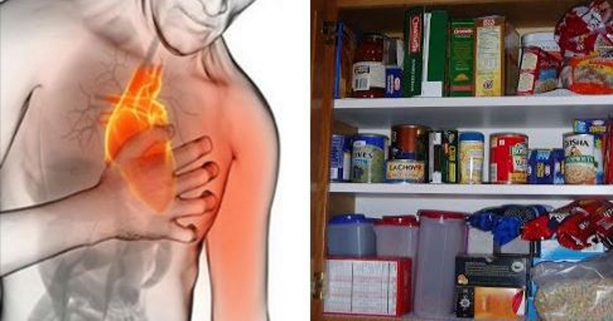 Stop A Heart Attack In Just 60 Seconds – Using A Common Ingredient In Your Kitchen