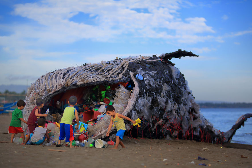 """""""Dead Whale"""" Of Philippines Reminds Us That The Ocean Pollution Is Getting Out Of Control. We NEED to ACT NOW!"""