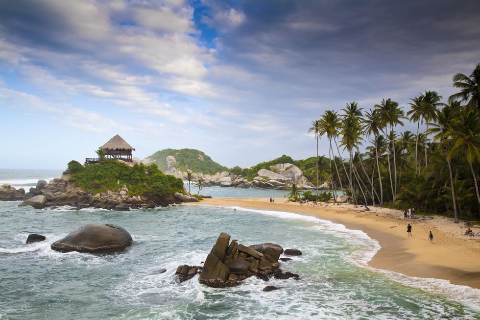 best beaches in the world - colombia