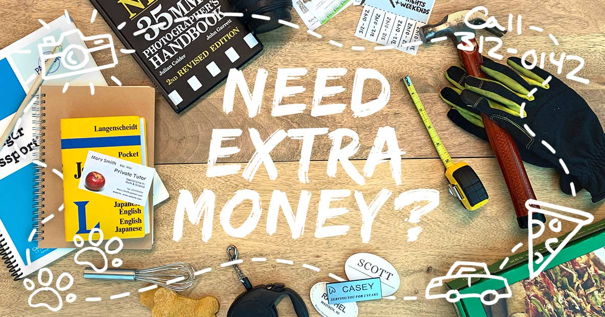 How to make extra money: 28 tips to fill your wallet